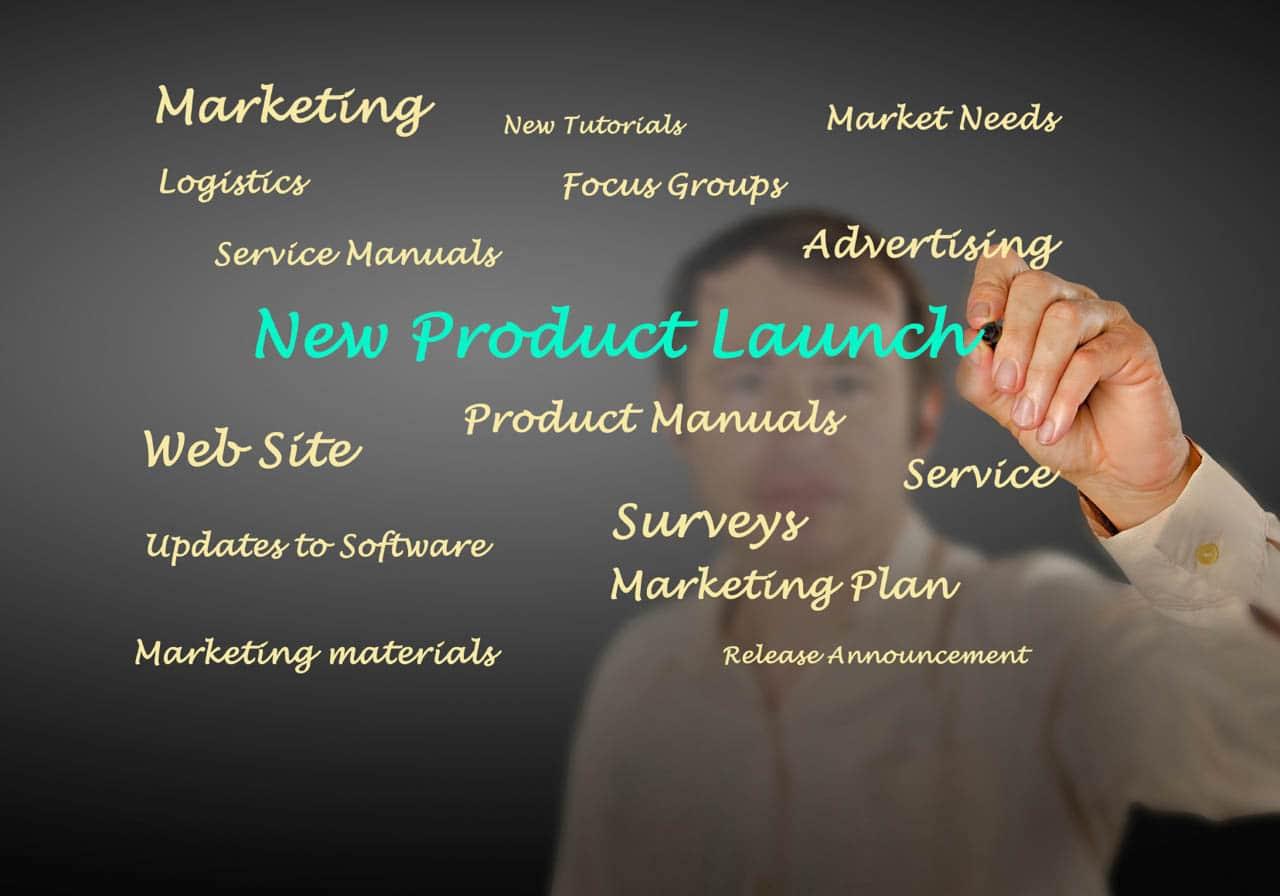 Produkteinführung und Marketing