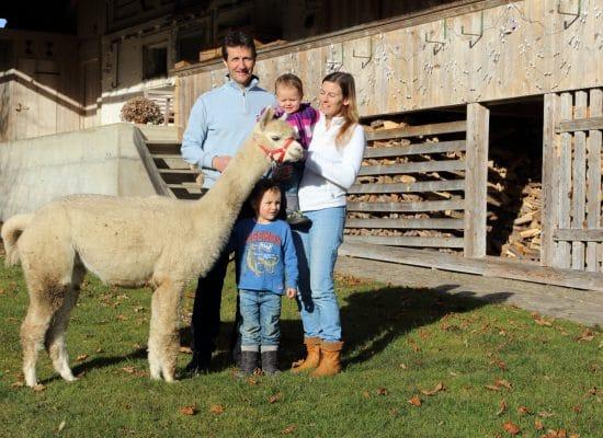 Familie Flückiger – Alpakazüchter